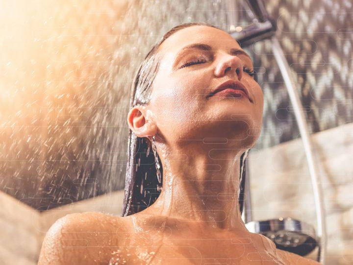 A hora do banho